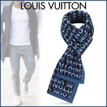 Louis Vuitton Wool Street Style Bi-color Scarves