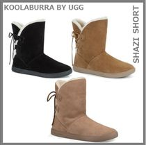 Koolaburra Round Toe Suede Ankle & Booties Boots