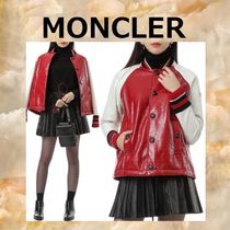MONCLER GRENOBLE Wool Varsity Jackets