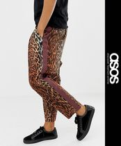 ASOS Printed Pants Leopard Patterns Street Style Patterned Pants