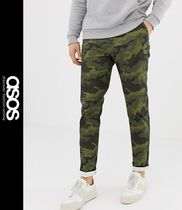 ASOS Printed Pants Camouflage Street Style Patterned Pants