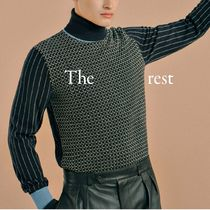 HERMES Long Sleeves Knits & Sweaters
