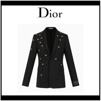 DIOR HOMME Wool Other Animal Patterns Blazers Jackets