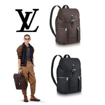 Louis Vuitton UTAH Leather Backpacks