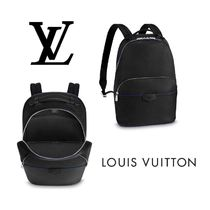 Louis Vuitton TAIGA Bag in Bag Leather Backpacks