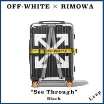 Off-White Street Style Collaboration Luggage & Travel Bags
