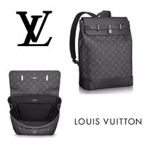 Louis Vuitton MONOGRAM Leather Backpacks