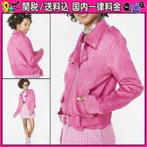 DOLLS KILL Short Casual Style Plain Biker Jackets