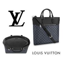 Louis Vuitton DAMIER A4 Leather Totes