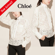 Chloe Long Sleeves Cotton Medium Home Party Ideas Elegant Style