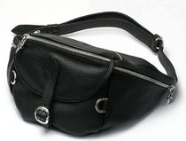 CHROME HEARTS DAGGER Unisex Street Style Plain Leather Bags