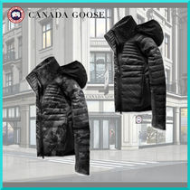 CANADA GOOSE Camouflage Medium Down Jackets