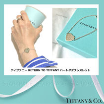 Tiffany & Co RETURN TO TIFFANY Casual Style Chain Silver Fine