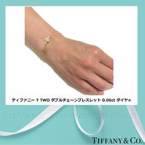 Tiffany & Co Tiffany T Chain 18K Gold Elegant Style Fine