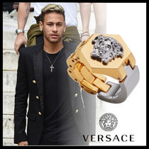 VERSACE Chain Metal Rings