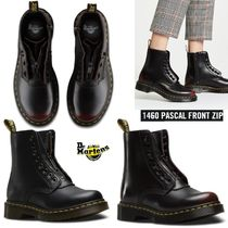 Dr Martens 1460 Round Toe Rubber Sole Lace-up Casual Style Unisex