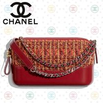 CHANEL Other Check Patterns Calfskin Chain Party Style