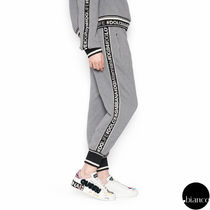 Dolce & Gabbana Casual Style Sweat Bi-color Long Sweatpants
