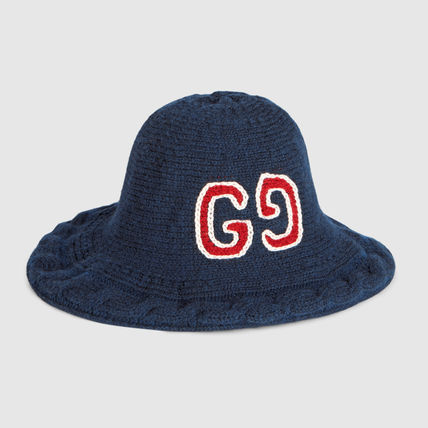 GUCCI 2018-19AW Unisex Bucket Hats Wide-brimmed Hats (547515 4G359 ... 9e1b96821f7