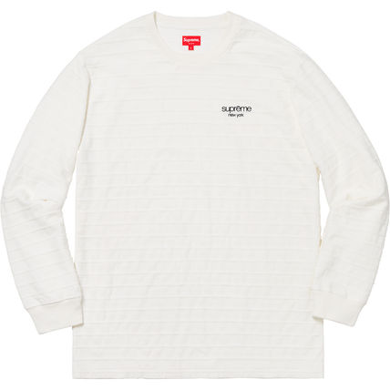 Supreme Long Sleeve Unisex Street Style Long Sleeves Cotton Long Sleeve T-Shirts 2