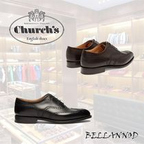 Church's Chetwynd Wing Tip Plain Leather Handmade Oxfords