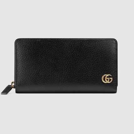 GUCCI GG Marmont Gg Marmont Leather Zip Around Wallet