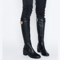 Casual Style Mid Heel Boots