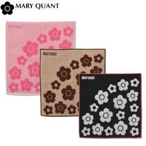 MARY QUANT Flower Patterns Handkerchief