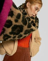 Stradivarius Leopard Patterns Heavy Scarves & Shawls