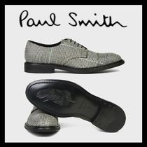 Paul Smith Zigzag Straight Tip Leather Oxfords