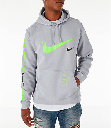 Nike Hoodies Pullovers Unisex Street Style Long Sleeves Hoodies 6