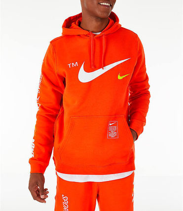 Nike Hoodies Pullovers Unisex Street Style Long Sleeves Hoodies 8