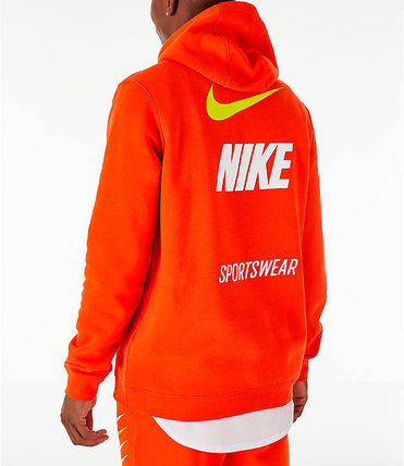 Nike Hoodies Pullovers Unisex Street Style Long Sleeves Hoodies 11