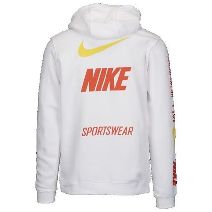 Nike Hoodies Pullovers Unisex Street Style Long Sleeves Hoodies 13