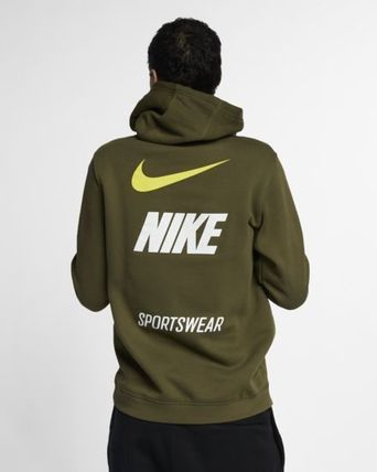 Nike Hoodies Pullovers Unisex Street Style Long Sleeves Hoodies 14