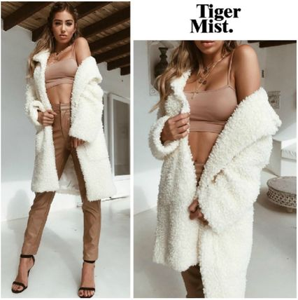 Plain Long Party Style Jackets