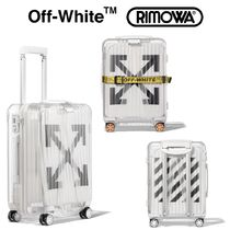 Off-White Unisex Street Style Business & Briefcases