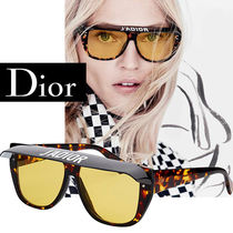 Christian Dior Unisex Square Sunglasses