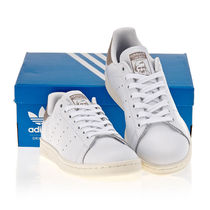adidas STAN SMITH Plain Toe Rubber Sole Casual Style Street Style Plain