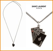 Saint Laurent Chain Metal Necklaces & Chokers