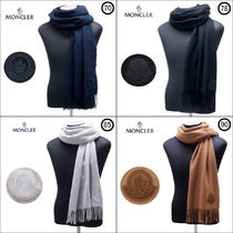 MONCLER Unisex Wool Scarves