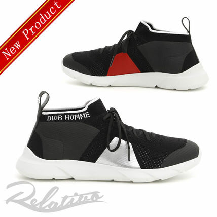 DIOR HOMME 2018-19AW Street Style Sneakers (3SN237YDG H963) by ... 8325caf642b