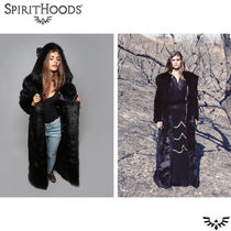 SPIRIT HOODS Faux Fur Other Animal Patterns Medium Cashmere & Fur Coats