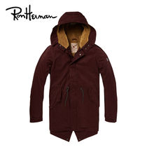 Ron Herman Unisex Plain Long Handmade Parkas