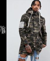 Sixth June Camouflage Street Style Parkas