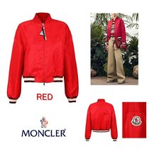MONCLER Short Stripes Casual Style Outerwear