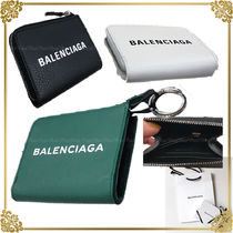 BALENCIAGA EVERYDAY TOTE Unisex Leather Coin Cases
