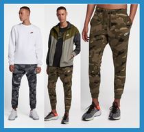 Nike Camouflage Street Style Cotton Joggers & Sweatpants