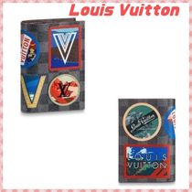 Louis Vuitton DAMIER GRAPHITE Passport Cases