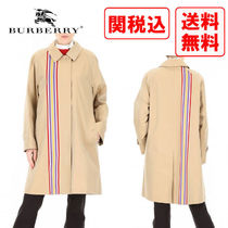 Burberry Casual Style Street Style Trench Coats
